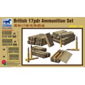 British 17pdr Ammunition Set 1/35