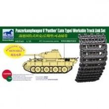 Set orugas de eslabones para Panther late type 1/35