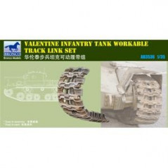 British Valentine MK.I Tank Workable Track link Set 1/35