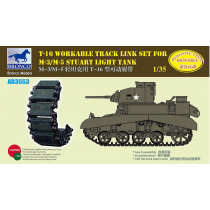 T16 Workable Track Link Set for M3/M5 Staurt Light Tank 1/35