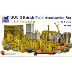 WWII British Field Accessories Set 1/35