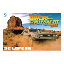 Delorean Dmc Back To The Future 3 1/24