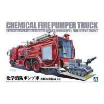 Chemical Fire Pumper Truck 1/72