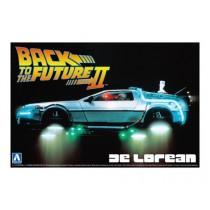 Delorean Dmc Back To The Future 2 1/24