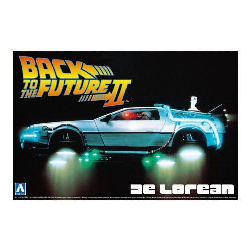 Delorean Dmc Back To The Future 2 1/24