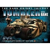 Dark Knight Armored Tumbler w/bane 1/25