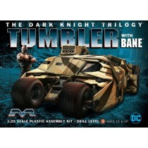 Dark Knight Armored Tumbler w/bane 1/25