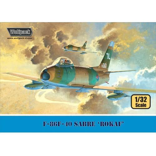 F-86F-40 Sabre Rokaf Premium Edition Kit 1/32