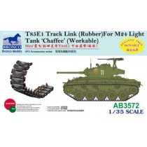 T85E1 Track Link (Rubber) for M24 Chaffee Light Tank 'Chaffee'  1/35