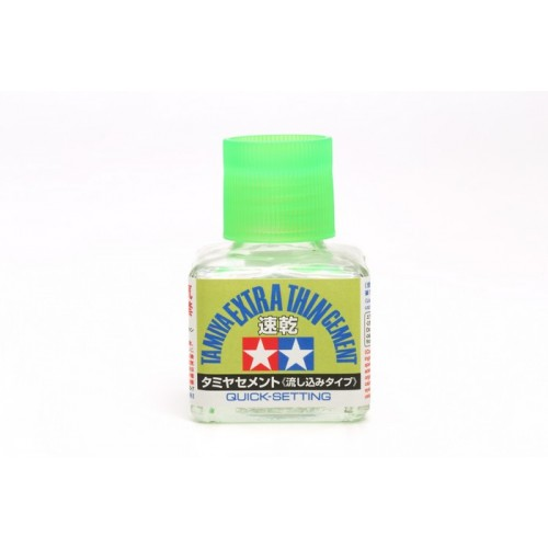 Extra-Thin Cement - 40ml (Quick-Setting) 40 ML.