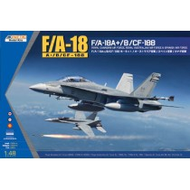 McDonnell-Douglas F/A-18A+/B/ Hornet / CF-188 Royal Canadian Air Force. Royal Australian Air Force. Spanish Air Force 1/48