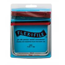 FLEX-I-FLEX ARCO DE LIJAR, 3 UNIDADES y surtido de cintas