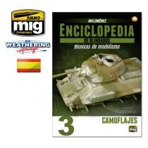 ENCICLOPEDIA DE TECNICAS DE MODELISMO DE BLINDADOS VOL.3 CAMUFLAJES