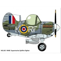 Cute Supermarine Spitfire Fighter
