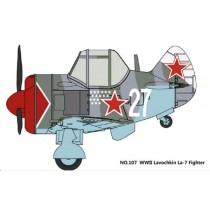 Cute Lavochkin La-7 Fighter