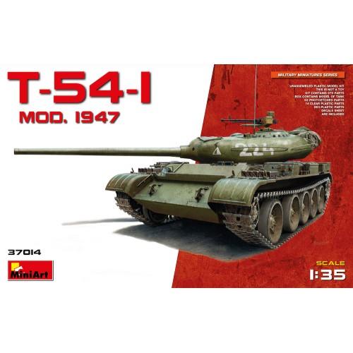 Soviet T-54-2 Soviet Tank Mod. 1949 with interior.