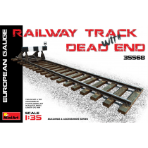 Railway Track & Dead End European Gauge 342 MM. 1/35