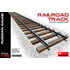 Railroad Track Russian Gauge 714 MM. 1/35