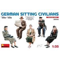Sitting Passengers '30s-'40s 1/35
