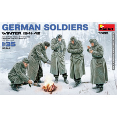 German Soldiers (Winter 1941-42)  1/35