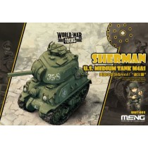 M4A1 Sherman U.S Tank World War