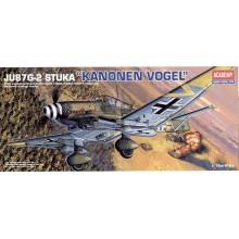 JU-87 G-2 STUKA 1/72 ACADEMY