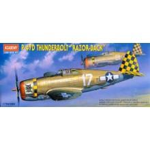 P-47D THUNDERBOLT 1/72 ACADEMY