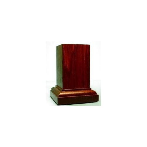 PEANA Pedestal 65mm Cuad. 5x5 Palo Rojo-Eba