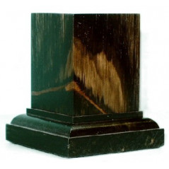 PEANA Pedestal 65mm Cuad. 3x3 ctms. Ebano-Ebano