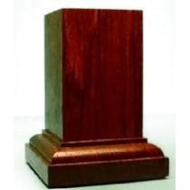 PEANA Pedestal 65mm Cuad. 4x4 PaloRojo-Ebano