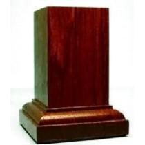 PEANA Pedestal 65mm Cuad. 3x3 PaloRojo-Ebano