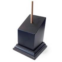 PEDESTAL Incl. 70mm DM Cuadrado 4x4 Negro