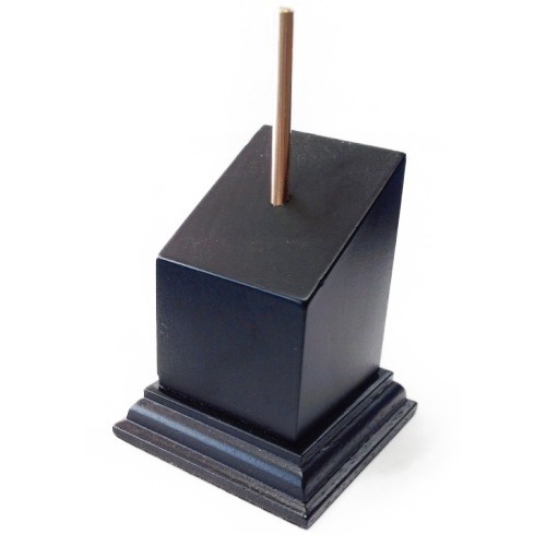 PEDESTAL Incl. 70mm DM Cuadrado 3x3 Negro