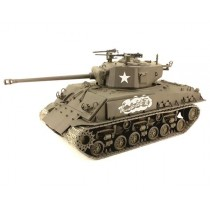 """Sherman M4A3E8 Easy Eight """"Thunderbolt VII"""" with resin armor plate 1/35"""