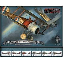Sopwith F.1 Camel Clerget 1/32