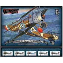 Sopwith F.1 Camel Le Rhone scale 1/32