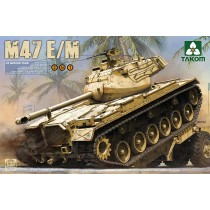 US Medium Tank M47E/M 1/35 calcas españolas