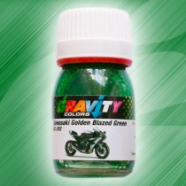 GC-292 Kawasaki Golden Blazed Green de Gravity Colors