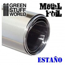 Lamina Metal Flexible - ESTAÑO