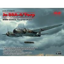 Junkers Ju-88A-4 Torp/A-17, WWII German Torpedo Plane.  1/48
