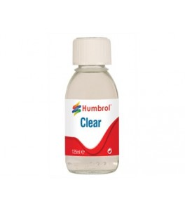 Humbrol Acrilic Clear - 125ml Bottle