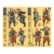 "Samurai Warriors 8 Figures from the legendary Japanese tale of the ""Chushingura"" 1/35"