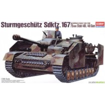 German Assault Gun Tank Sturmgeschütz Sdkfz. 167 1/35
