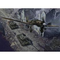 Junkers Ju-87G-2 & JS-2 1/72