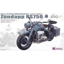 WWII German Motorcycle Zundapp KS750 1/35
