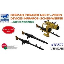 German Infra-red Night-Vision Devices Infra-rot-Scheinwefer 1/35