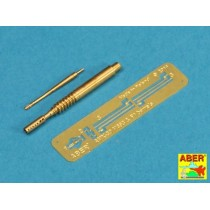 Barrels for 20mm M693 autocannon & barrel for F1 7,62 machine gun for French AMX-30B 1/35