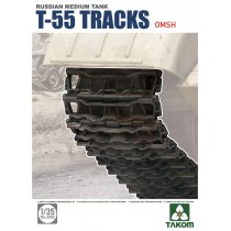 Soviet T-55 Tracks OMSh (open metallic joint type) 1/35