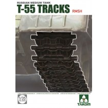 Soviet T-55 Tracks RMSh (rubber metallic hinge type) 1/35