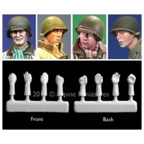 WW2 German Head Set Nº 2 1/35
